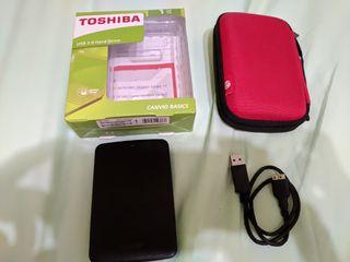 disco duro externo toshiba 1tb portatil 2.5