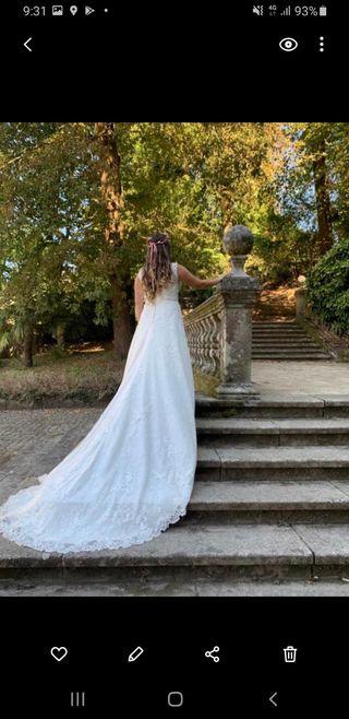 vestido de novia de pronovias