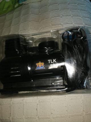 Compresor de aire con manómetro.