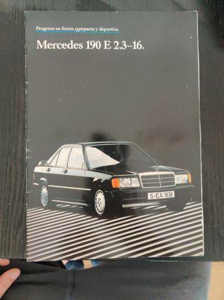 catálogo mercedes Benz 190 2.3 16v