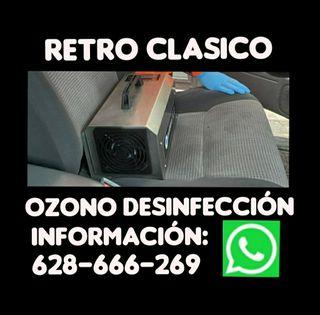 DESINFECCIÓN POR OZONO