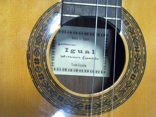 guitarra Igual artesania española
