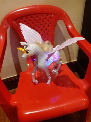 unicornio onchao,musical mattel