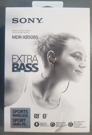 Auriculares SONY MDR-XB50BS