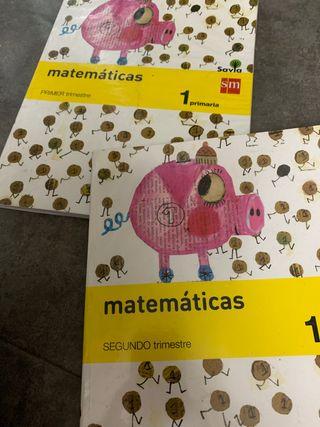 Matemáticas 1 primaria