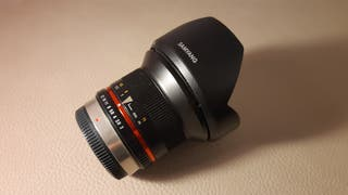 Objetivo Samyang 12mm. para M43