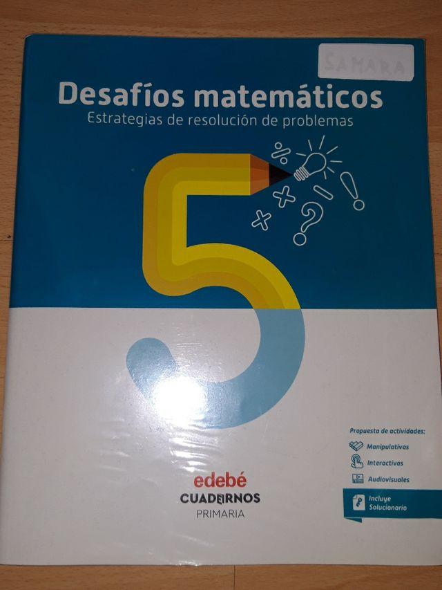 Libro desafíos matemáticos