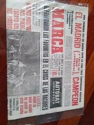 Periódico marca del año 1963