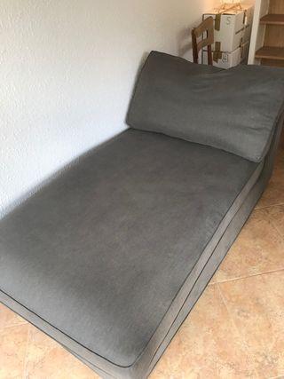 Sofá chaise longue Kivik ikea