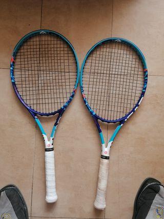 Raquetas head