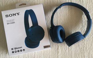 Auriculares inalámbricos Sony azules