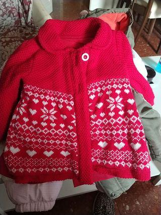abrigo lana 12-18 meses