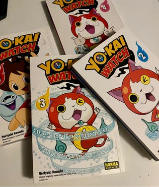 4 Cómics Manga Yo-Kai Watch