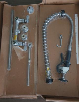 Grifo con 2 aguas para encimera