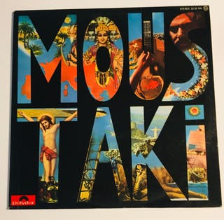 GEORGES MOUSTAKI : Moustaki Disco Vinilo LP