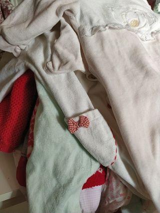 lote 4 pijamas 6 meses