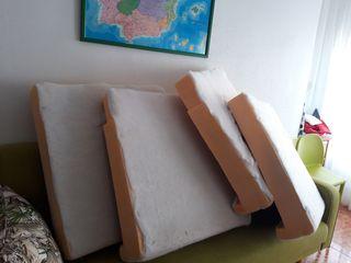 4 espumaciones asientos sofás universales.