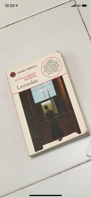 Libro leyendas de Béquer