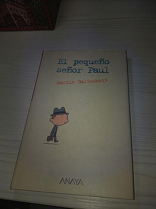 """Novela infanto-juvenil """"El pequeño señor Paul"""""""