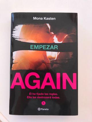 Libros 1y2 serie again. Novela romántica.