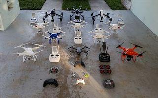 Dron Taller gimbal camara agua en dron todo...