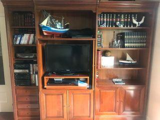 Mueble salón madera