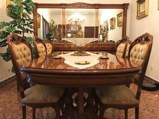 Muebles clásicos de salón