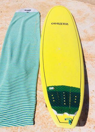 Tabla Surf Alder Cortez 7'2 Mini Malibu