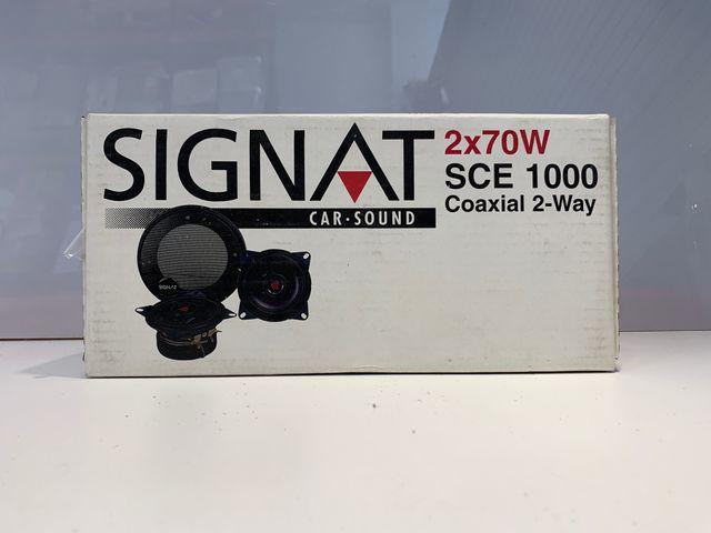 SIGNAT Car-Sound 2x100W SCE 1300 Coaxial 2-Way