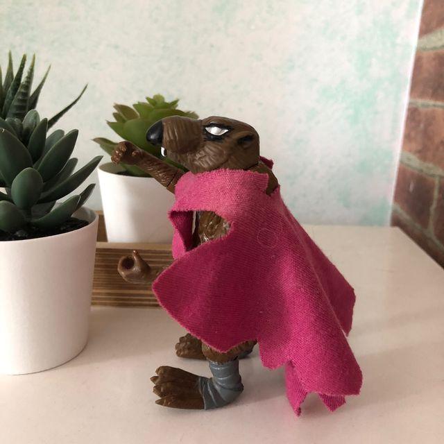 Figura maestro Splinter, Tortugas ninja