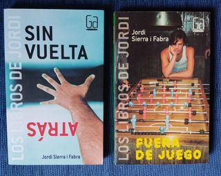 PACK libros juveniles Jordi Sierra i Fabra