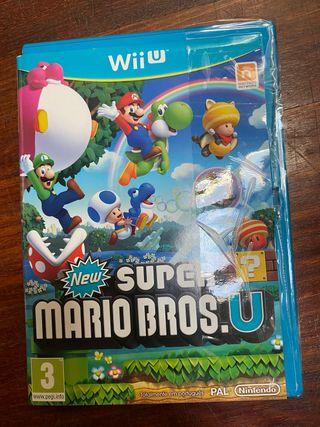 Videojuego Súper Mario Bros.U para WiiU