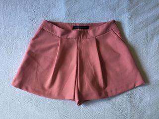 Falda pantalón corto ZARA