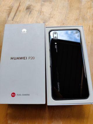 Huawei P20 usado como nuevo, 128gb