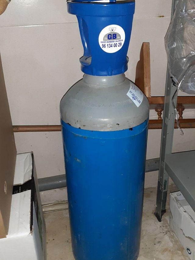 NEGOCIABLE botella de co2 dióxido de carbono