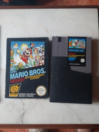 Super mario bros Nintendo Nes Pal b