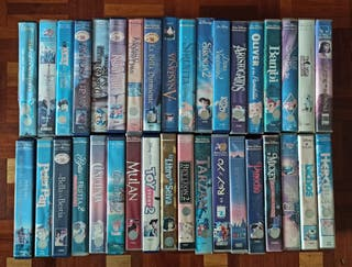 Películas infantiles disney VHS