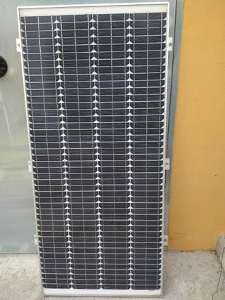 Placa solar 100w monocristalina