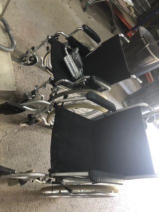 2 sillas ruedas ocasion