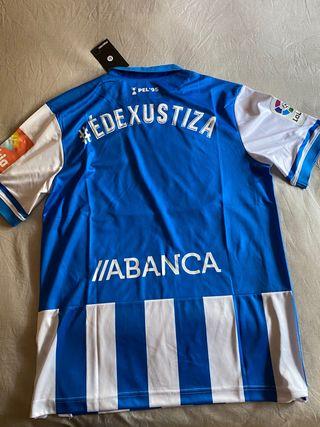 """Camiseta Deportivo de La Coruña""""ÉDEXUSTIZA"""""""