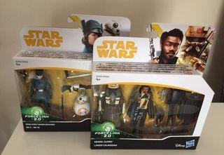 Lote figuras Star Wars - nuevas a estrenar
