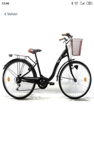 """Bicicleta 26"""" Paseo City 45 6 Velocidades"""