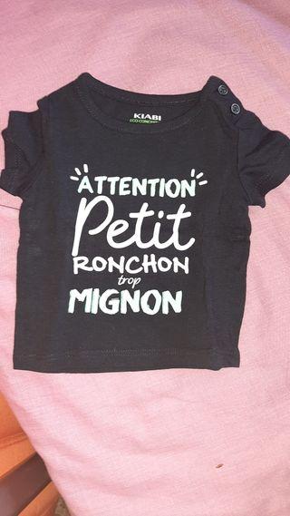 Camiseta 1 m