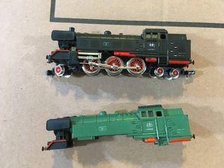 S66 ibertren verde con luz y humo