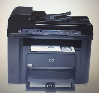 Impresora multifunción hp láser jet 1536dnf MFP