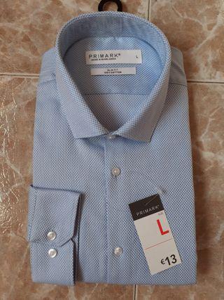 Camisa vestir nueva talla L