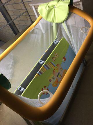 Parque grande para bebé