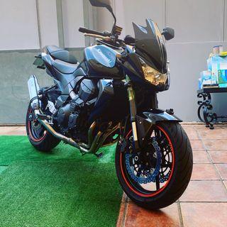 Kawasaki Z750, 15000Km, 2008