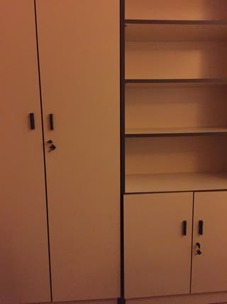2 armarios oficina