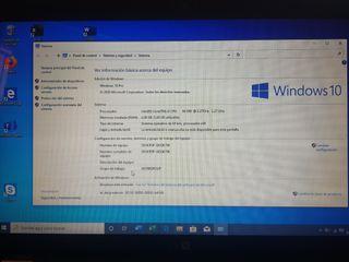 portatil HP G62 windows 10 pro y office 365